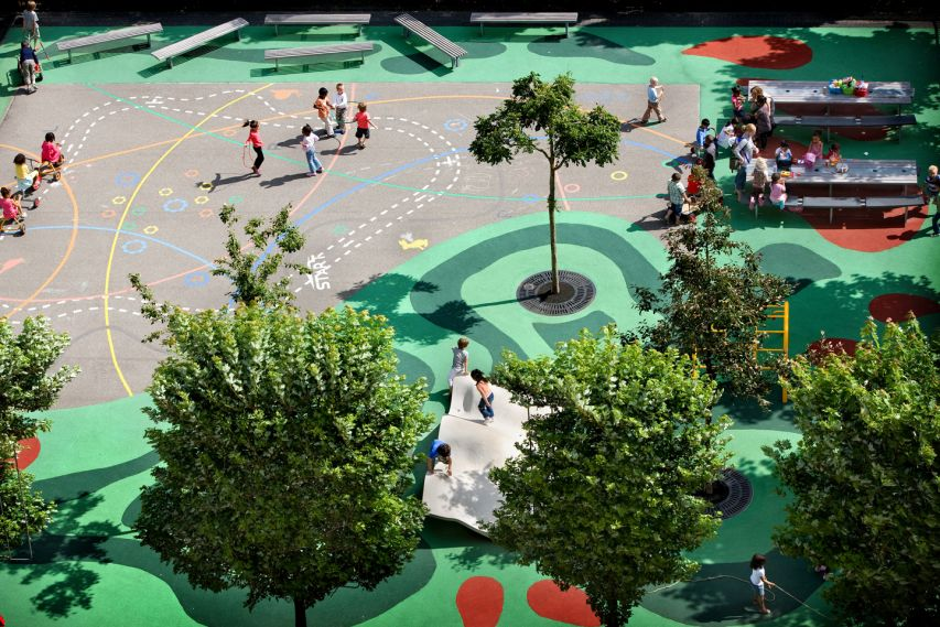 public_playground_Architects_Bekkering_Adams_Architecture_Mullerpier_Lloyd_Rotterdam